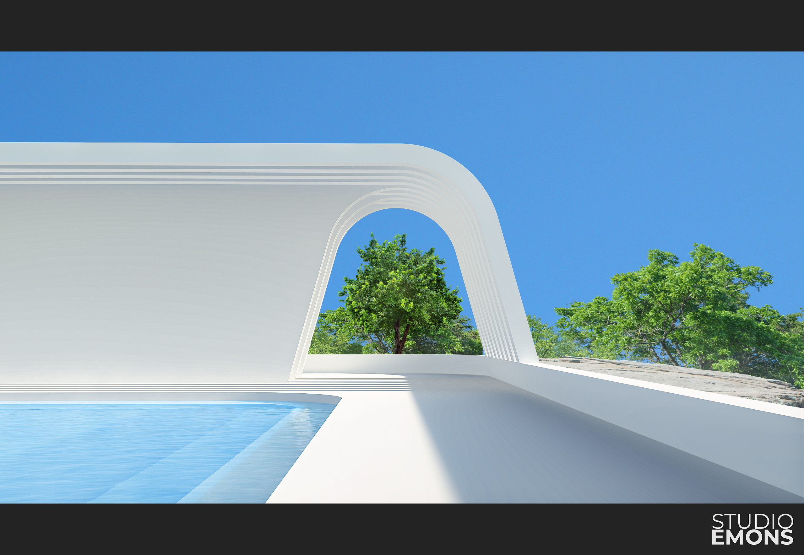 Pool in Cannes